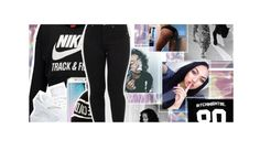 """""""black1"""" by eniola29 ❤ liked on Polyvore featuring NIKE and Samsung"""