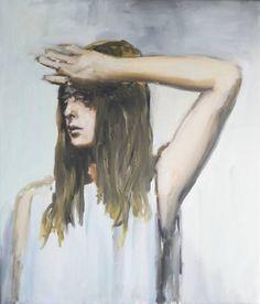 """Saatchi Art Artist Pauline Zenk; Painting, """"Girl in sunlight"""" #art"""