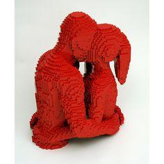 Nathan Sawaya Lego sculpture