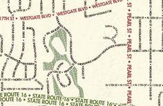 Typographic Map