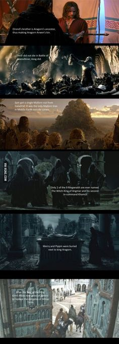 Some facts about The Lord of the Rings you may have not known- Part 2