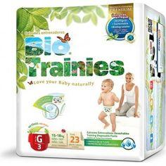 Pañales Bio Trainies Talla G de Eco-Rincón