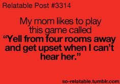 I have to admit I have done this. My poor kids. Lol.