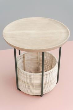 """everything-creative: """" The Basket furniture collection by Alain Gilles Studio For the British Vincent Sheppard furniture company the Alain Gilles Studio created a modern interpretation of rattan furnitures. The Basket collection is an armchair and a. Plywood Furniture, Cheap Patio Furniture, Rattan Furniture, Table Furniture, Furniture Decor, Furniture Design, Chair Design, Furniture Dolly, Luxury Furniture"""