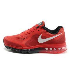 Nike Air Max  2014 Kırmızı Siyah  Erkek Ayakkabı