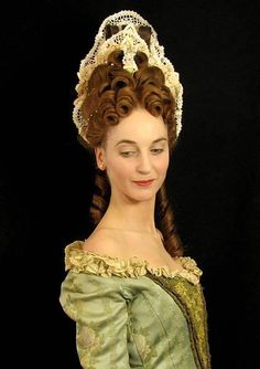 Baroque & Rococo Hair Styles Theater Akademie By Michael Badent
