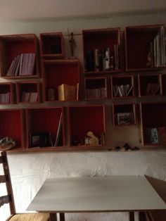 Bookcase, Shelves, Home Decor, Upcycling, Atelier, Shelving, Decoration Home, Room Decor, Bookcases