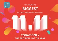 Happy 11.11 Spend the next 24 hours buying top quality products from #aliexpress. With discounts over 70% on selected items.   #Aliexpertos has preselected some items you might find interesting.   Join the World's Biggest Global Shopping Festival  Visit top sales for today:  http://ift.tt/2fHnqs3 - http://ift.tt/1HQJd81