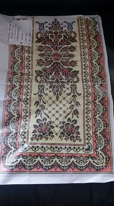 Cross Stitch Embroidery, Embroidery Patterns, Cross Stitch Patterns, Arabic Design, Needlepoint Designs, Sewing Dolls, Stitch 2, Cross Stitch Flowers, Diy Crafts