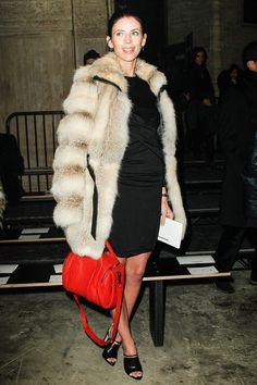 Love a red handbag...at Alexander Wang
