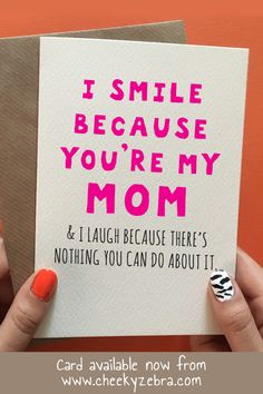 Gifts for mum birthday mom 45 ideas for can find Mom birthday gift and more on our website.Gifts for mum birthday mom 45 ideas for 2019 Funny Mom Birthday Cards, Birthday Cards For Mother, Birthday Presents For Mom, Mother Birthday Gifts, Humor Birthday, Birthday Ideas For Mum, Diy Birthday Gifts For Mom, Free Birthday, Birthday Nails