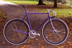 No Quarter Plum CrazyJames Langton is a 19 year-old Leicestershireman who recently inaugurated an enterprise restoring steel track and road frames called No Quarter, named after the Led Zeppelin track that appears on their 1973 album, Houses of the Holy.  .