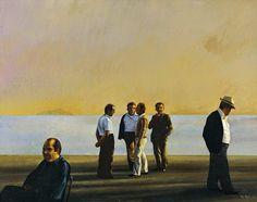 Ραζής Άγγελος Greek Paintings, 10 Picture, I Work Hard, Conceptual Art, Painters, Printmaking, Greece, Fine Art, Sculpture