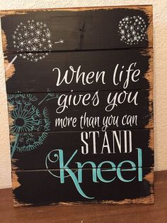 My home decor wood signs, quotes and bible verses are carefully constructed, entirely hand-painted and hand-lettered (no vinyl), and stained in my Pallet Crafts, Pallet Art, Pallet Signs, Diy Crafts, Painted Wood Signs, Wooden Signs, Painted Wood Crafts, Painted Pallets, Wood Signs Sayings