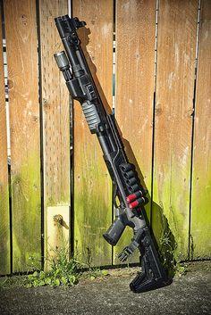 Remington 870 combat build, Magpul M93 Experimental