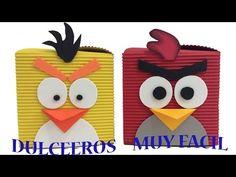 ANGRY BIRDS --Fiesta Tematica Decoración - YouTube