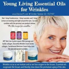 Young Living Essential Oils: Wrinkles by Sugarbean
