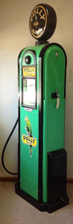 1930's Polly Gas Pump