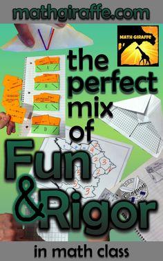 Inquiry, Rigor, and Fun - High School and Middle School math - website & blog at www.mathgiraffe.com