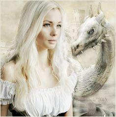 Winter Queens and White Dragons.a long- standing kinship. Fantasy Dragon, Dragon Art, Fantasy Art, Dragon Images, Dragon Pictures, White Dragon Society, Breathing Fire, Dragon Dreaming, Mother Of Dragons
