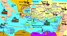 Maps of the empires in prophecy Bible Study Guide, Online Bible Study, Scripture Study, Study Guides, Youth Bible Lessons, Kids Church Lessons, Paul's Missionary Journeys, Bible Study Materials, Old Testament Bible