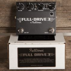 Fulltone Full Drive 3 | Pedals and Effects Available at Garrett Park Guitars | www.gpguitars.com