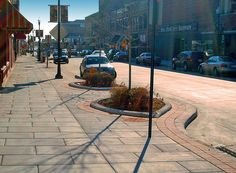 The newly expanded walkways throughout Downtown promote health by walking and shopping local!