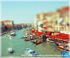 This tutorial will teach you how to get that mini architectural model look on your picture.