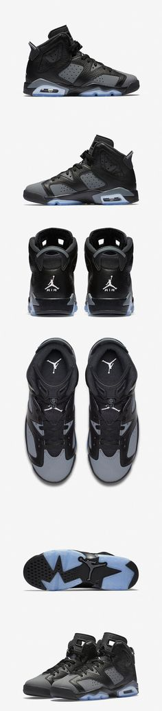 "Air Jordan 6 Retro ""Black/Cool Grey"" - EU Kicks: Sneaker Magazine"