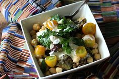 There's only so many ways you can spice up a veggie bowl right? Wrong! This recipe from Dietitian Debbie calls for a roasted eggplant and lentil bowl smothered in garlicky yogurt sauce. Yum! To edu...