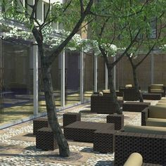 #Hotel #Milan #dehor Landscape Design, Garden Design, Milan, Plants, Outdoor, Outdoors, Landscape Designs, Plant, Outdoor Games