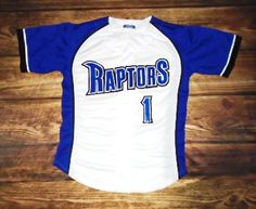 Vegas Raptors Baseball designed this custom jersey and TURF Sporting Goods in Las Vegas, NV created it for the team! http://www.garbathletics.com/blog/raptors-baseball-custom-jersey/ Create your own custom uniforms at www.garbathletics.com!