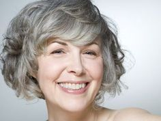 Modern Haircuts for Women over 50 with Extra Zing curly silver bob for older womencurly silver bob for older women Short Wavy Hairstyles For Women, Best Short Haircuts, Short Hair Cuts For Women, Short Curly Hair, Curly Hair Styles, Natural Hair Styles, Curly Bob, Hairstyle Short, Long Hair