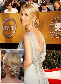 christina applegate hair, click through for more gorgeous short updo hairstyles, via @Sanjana Mallela
