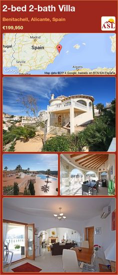 2-bed 2-bath Villa in Benitachell, Alicante, Spain ►€199,950 #PropertyForSaleInSpain