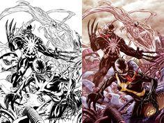 X-Men Venom cover by diablo2003 on DeviantArt