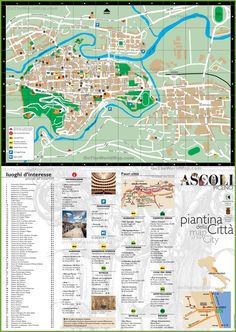 Tourist map of surroundings of Propriano Maps Pinterest