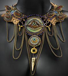 Neckpieces-Bronze Eye