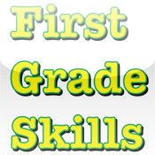 First Grade Skills: vocab, reading, math, time money