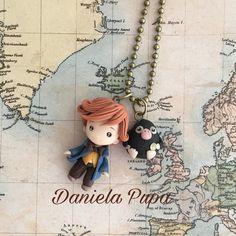 """""""Mi piace"""": 627, commenti: 6 - Daniela Pupa (@danielapupa) su Instagram: """"*New entry * Da """"Animali fantastici e dove trovarli"""" ecco #Newt Scamander ed un piccolo #Snaso ,…"""""""