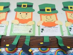 "145 Likes, 7 Comments - Teri (@acupcakefortheteacher) on Instagram: ""Leapin' Leprechauns! These little guys are always fun to make!  Link in profile or visit…"""