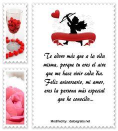 saludos de aniversario,frases de aniversario,buscar frases de aniversario: http://www.datosgratis.net/fantasticos-mensajes-de-aniversario-para-mi-pareja/