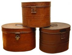 English Hat Boxes