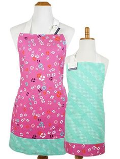 Reversible Aprons - Child & Adult Sizes