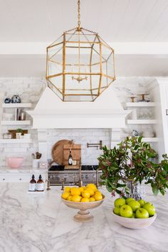 Rach Parcell Kitchen- Kitchen Styling by Studio McGee