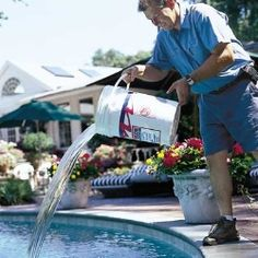 How to Maintain A Pool Pool Cleaning Service, Outdoor Living, Outdoor Decor, Outdoor Ideas, Pool Maintenance, Dream Pools, Diy Cleaning Products, Good Job, Good To Know