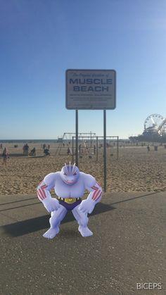 Muscle Beach, CA #PokemonGo