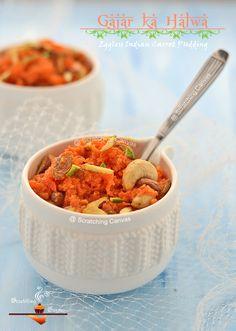 Traditional Gajar ka Halwa | Vegan Indian Carrot Pudding | Eggless Carrot Halwa