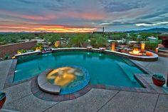 Patio Pools & Spas | PebbleTec: Caribbean Blue