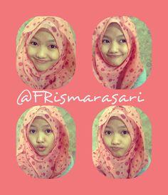 @fika rismarasari :) #girl #beauty #hijab #pink #polkadot #photoshootout #photoftheday #like @fika rismarasari